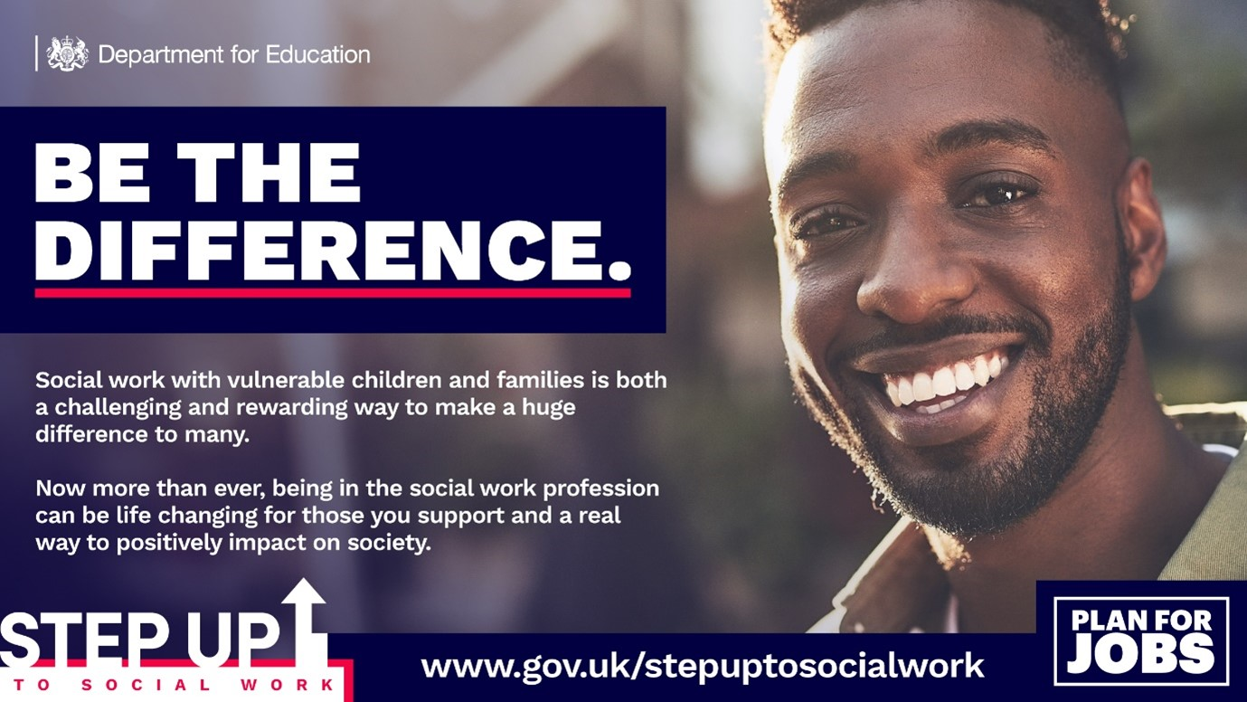 Step Up to Social Work programme graphic
