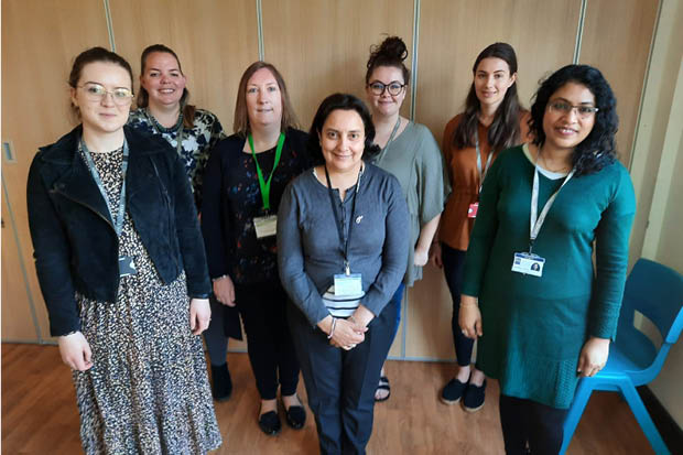 The Social Workers in Schools team at Harrow Council.